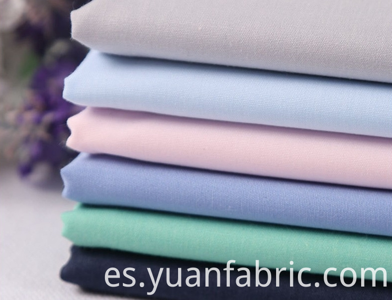 145wholesale Cotton Blend Combed Woven Dyed Fabric