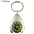 Zinc Alloy Trolley Coin Key Chain