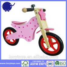 Alta qualidade executar bike crianças de madeira bicicleta