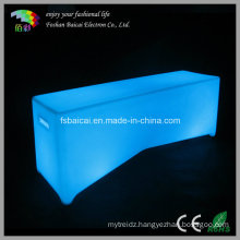 LED Glow Bench Chair