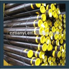 API 5L Gr.B Nahtloses Stahlrohr SCH 40 Stahlrohr aus Hebei