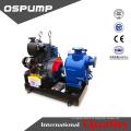 Schmutzwasserpumpe Dieselmotorantrieb selbstansaugende Anhänger-Abwasserpumpeneinheit