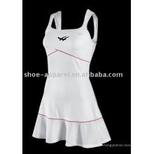 2013 mais recente moda vestido de tênis branco por atacado, saia de tênis