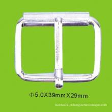 Fivela de cinto de metal de liga de zinco