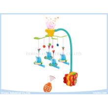 Infant Toys Remote Control Projective Baby Mobiles on Cradle