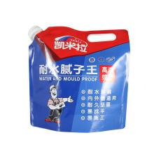 poche de bec verseur de fluide laminée en aluminium