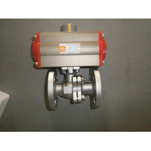 Actuador neumático - Actuador de tres posiciones opcional