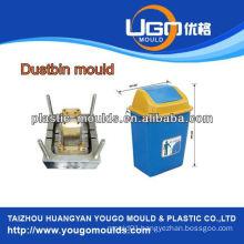 High quality plastic mould factory dustbin bin mould Taizhou zhejiang China