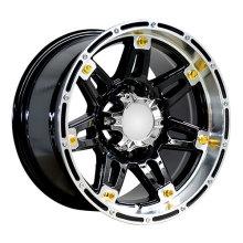 Big Golden Rivets Alloy Wheels