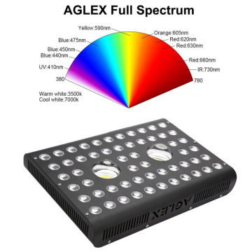 IR UV LED Grow Light COB de espectro completo