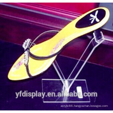 Popular Hot Sell Acrylic Shoes Display Holder For Supermarket or Shopping Mall