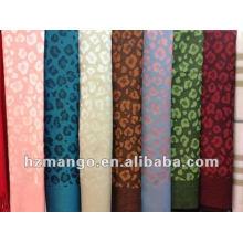 2016 la última bufanda reversible del pashmina del color del diseño del leopardo del resorte de la manera