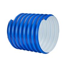 single wall corrugated  plastic hdpe pipe foe drainage system