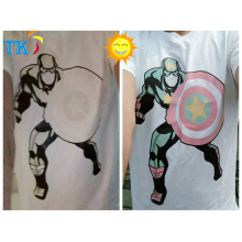 photochrome Pigmente für T-Shirts, photochrome Farbstoffe