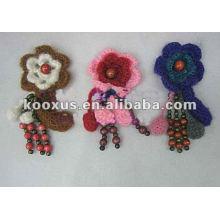 Вязание крючком цветов / Аксессуары для одежды