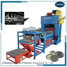 Línea de producción de la máquina para fabricar extremos de latas