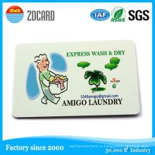 4 цвета пластик глянцевый ПВХ печать имя/визитная карточка