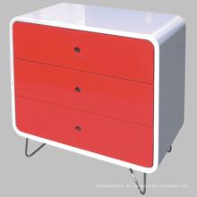 Moderne hochglänzende Farbe Schrank Holz Schrank Möbel aus Holz