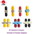 St Simplex Duplex Plastic or Metal Fiber Optic Adapter
