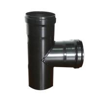 Pellet Stove Chimney Pipe - T Tube