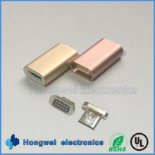 Reversible 5pin Micro Magnetic USB Adapter for Android