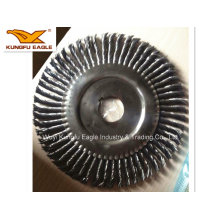 Knotted Cup Steel Wire Brush/ Round Steel Wire Brush