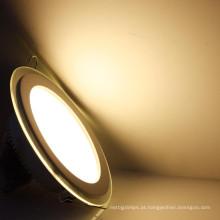 Interior de habitação IP55 super impermeável de vidro ultra-fino levou recesso teto luz do painel