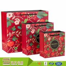 Алибаба хорошая печать подарок бумажный мешок, импортируемых из Китая Оптовая продажа фабрики