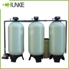 Depósito / recipiente de la presión del agua de FRP para el ablandador de agua y el tratamiento de aguas