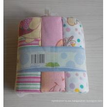 Pañal 100% algodón de impresión de bebé (BC-BD1004)