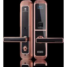 Serrure de porte sans fil à empreinte digitale Zigbee avec caméra