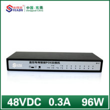 Switch POE gerenciado padrão Gigabit de 8 portas