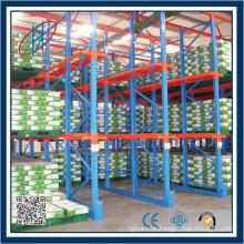 Drive In / Drive Through Warehouse Storage Rack