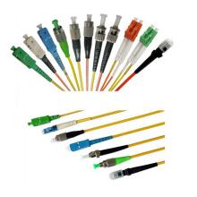 Cordon de correction de fibre optique Sc / APC-Sc / APC