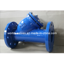 Cast Ductile Iron Ggg40 Class125 Class125 Y Type Strainer (GL41-10/16)
