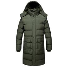 Men's Long Padded Coats for Winter Wholesale Custom