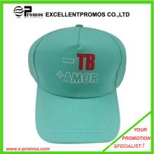 Insignia promocional impresa algodón gorra de béisbol (EP-C411129)