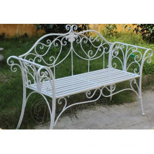 Wrought Iron Garden Bench for Outdoor Furniture