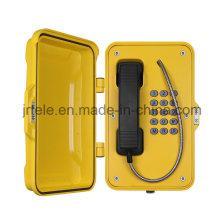 Téléphone sans fil résistant aux intempéries, téléphone sans fil Tunnel, téléphones SIP robustes