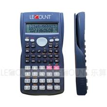 240 Fonctions 2 Calculatrice scientifique de l'affichage de la ligne avec boîtier arrière coulissant (LC750)