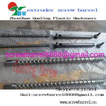 Parafuso único barril para extrusão de Pvc Pp PEBD PEAD