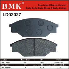 Hochwertige Bremsbeläge (D2027)