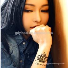 Hot sexy tattoo paper single magic tattoo sticker for girl
