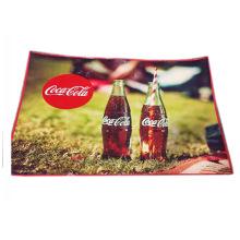 кока рекламные конструкции рециркулирует PP сплетенный коврик для пикника коврик