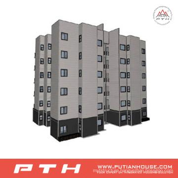 China High Quality Prefabricated Light Steel Village Villa House