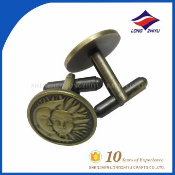 Оптовая продажа пользовательские высокое качество металла запонки, сделанные в Китае