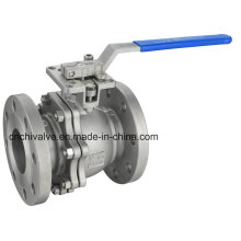 2PC Flange API Stainless Steel Floating Ball Valve