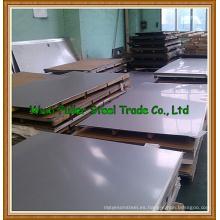 Duplex 2205 dúplex placa de acero inoxidable cepillado hoja de acero inoxidable