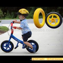 poids léger 12 pouces PU mousse en plastique roue pour enfants vélo