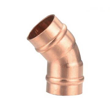 solder ring 45 elbow copper pipe fittings
